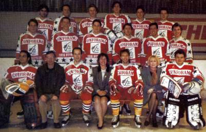 Équipe Valenciennoise D1 (France) : seniors 1992-93 entraîneur : M. Génilas