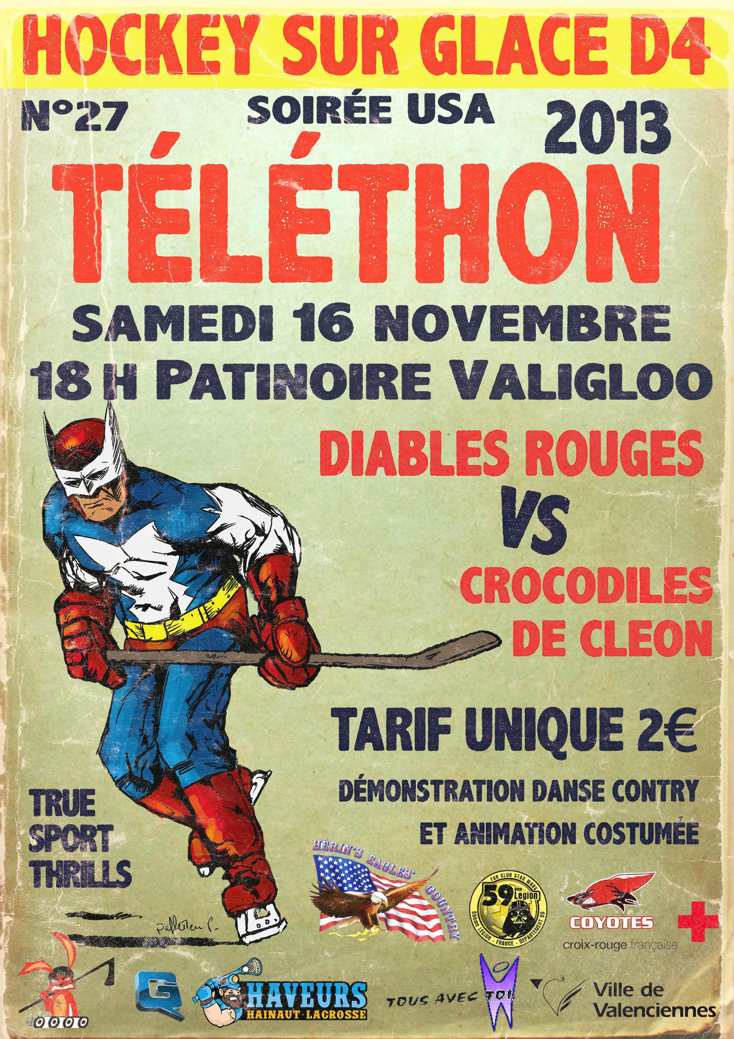 Soir e t l thon vhhc for Soiree telethon