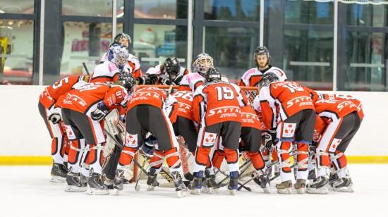 L'équipe senior (D3) du VALENCIENNES HAINAUT HOCKEY CLUB.