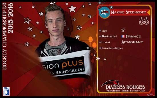 88 Maxime Steenkiste