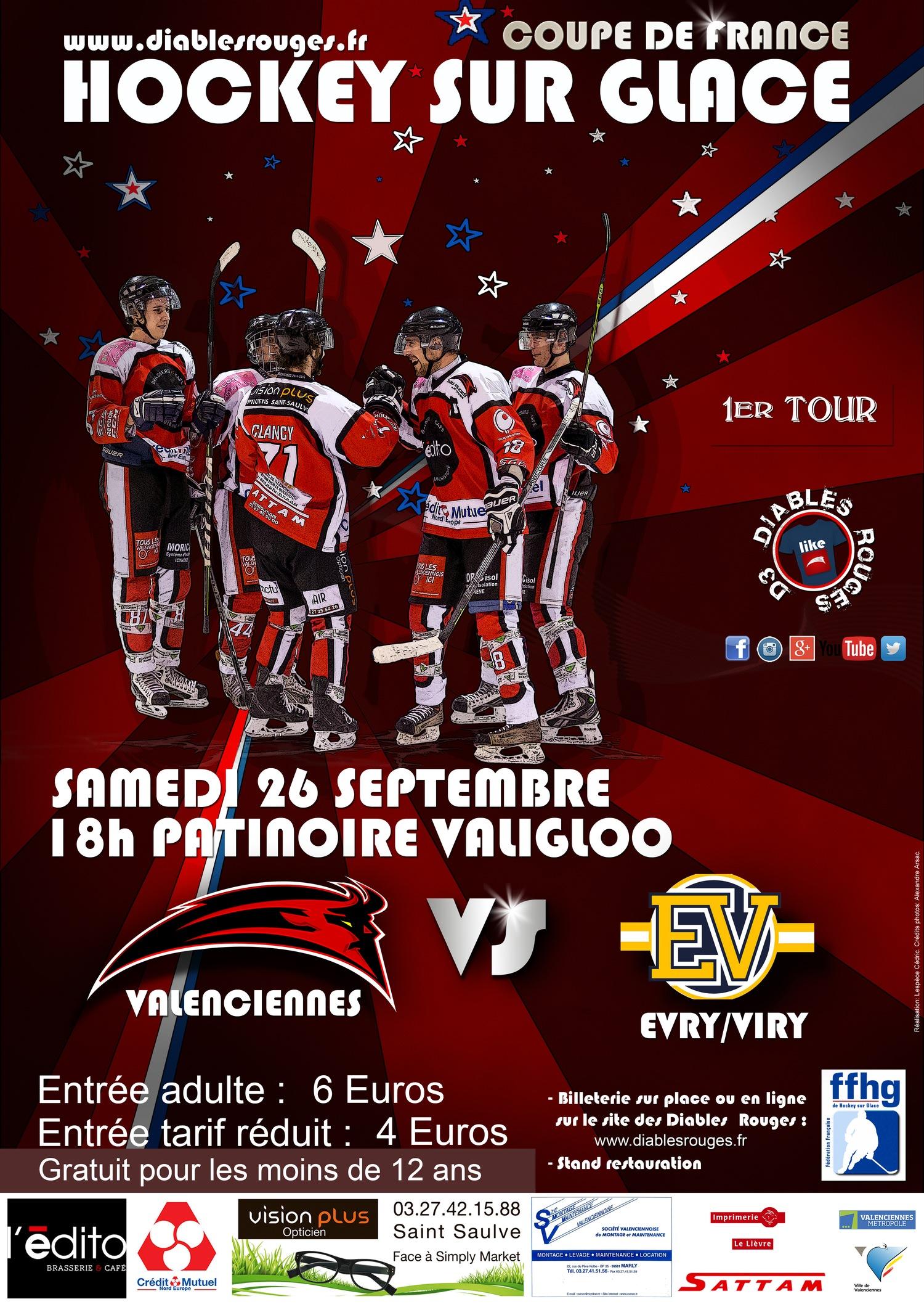 R servez votre samedi 26 septembre 1er match de coupe de france valiglo vhhc - Match de coupe de france ...