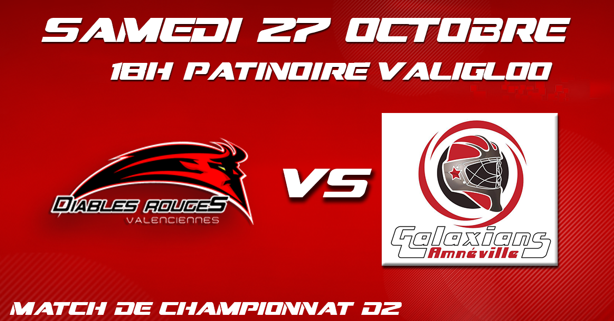 Valenciennes reçoit Amneville ce samedi 27 octobre
