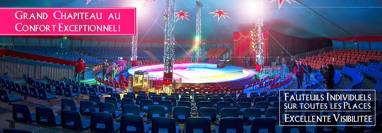Le club est partenaire du Cirque de Noël à Valenciennes !