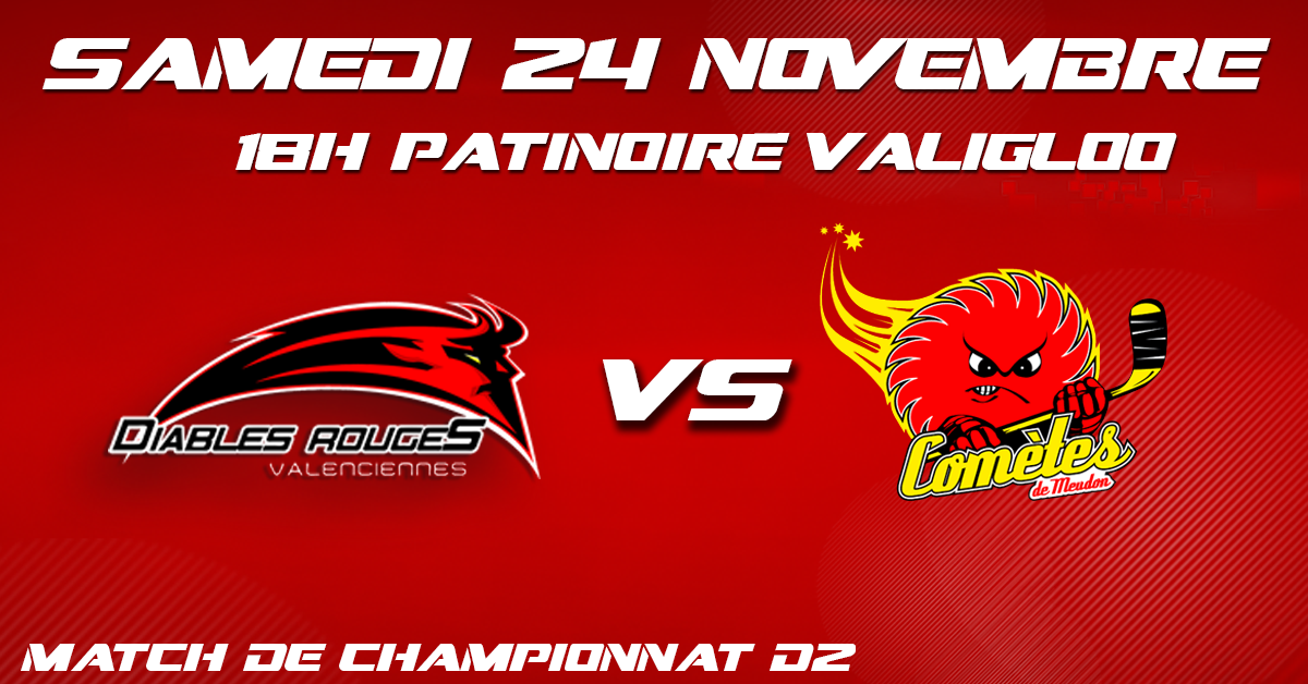 Valenciennes reçoit Meudon ce samedi 24 novembre